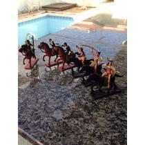 Bonecos Índios E Cavalo Guliver - Forte Apach * Raro #263