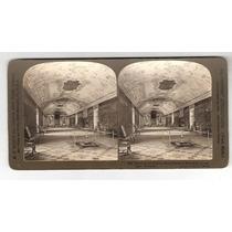 Foto Estereoscopica-salão Do Reinado-palacio Rosenburg-din..