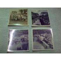 Lote 4 Antigas Fotos - Família
