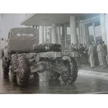 Fotografia De Caminhão Mercedes Do Exército