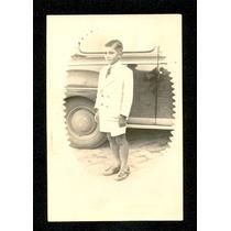 Menino Calças Curtas/gravata -foto Antiga-1951