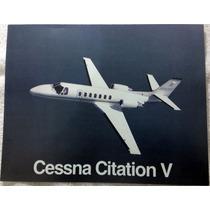 Ficha De Avião Cessna Citation V
