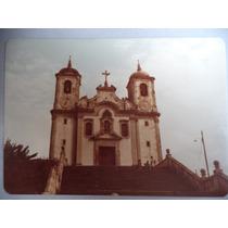 Fotografia Igreja Santa Efigênia Em Ouro Preto - Mg Anos 80