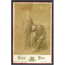 Foto Antiga - Carte Cabinet - Pelotas - Baptista Lhullier