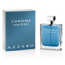 Perfume Azzaro Chrome United Masc 100ml Edt - Original