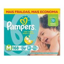 Fralda Pampers Total Confort M