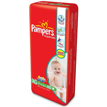 Fralda Pampers Supersec Hiper Xg