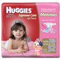Fralda Huggies Care Soft Touch Xxg 52 Unidades Meninas