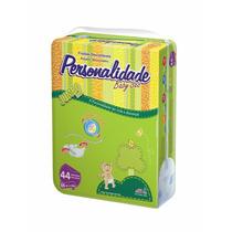 Fralda Personalidade Baby Sec Jumbo ( Med ) Com 44 Un