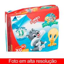Fralda Looney Tunes Jumbo Pack Xg 20fraldas (kit 9 Pacotes )