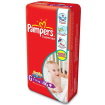Fralda Pampers Supersec Hiper G 46 Unid