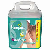 Pampers Total Confort G 2 Super Pack Com 62 Unidad Cada