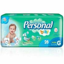 Fralda Descartáveis Personal Baby G 280 Barato