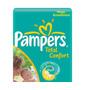 Fralda Pampers G 0,98/unid Pacote Com 172 Unid Total Confort