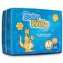 Fralda Descartável Infantil Tam M, 90 Unid - Baby Willy