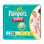 Fralda Pampers Pants M 26 Un (kit 5 Pacotes)