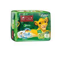 Fralda 20 Un. Tam. G O Rei Leão Disney Original - Capricho