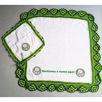 Fralda Palmeiras Personalizada Nome Temos Saída Maternidade