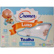 Fralda Cremer Desenhos De Menino Toalha Luxo C/ 3 Unidades