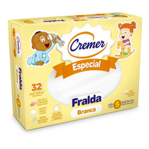 Fralda Branca Especial - Cremer