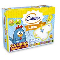 Fralda Luxo Galinha Pintadinha C/bainha - Cremer