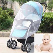 Tela Mosquiteiro Carrinho Bebê Infantil Ou P/ Bebê Conforto