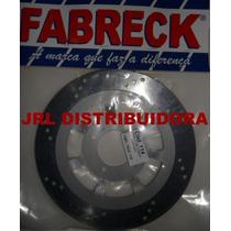 Disco De Freio Dianteiro Yamaha Ybr-125 Ed Ano 2000 A 2008