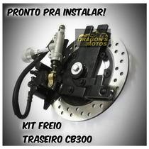 Kit Freio A Disco Traseiro Cb 300 Twister 250