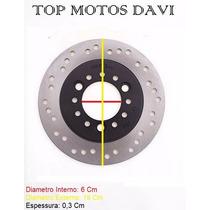 Disco Freio Dianteiro Moto Honda Lead 110