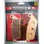 Pastilha De Freio Dianteira Cbr500 11-13 Potenza Ptz226 Gt