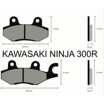Pastilha De Freio Kawasaki Ninja 300r Ano 2013 Em Diante D/t
