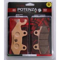 Kit Pastilha Freio Diant + Tras Potenza Ninja 300 Ptz165