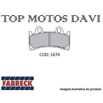 Pastilha Freio Fabreck Yamaha Fzr 1000 R - 2879