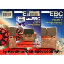 Jg Pastilhas Freio Ebc Cbr 600/1000 Rr 2008-2014