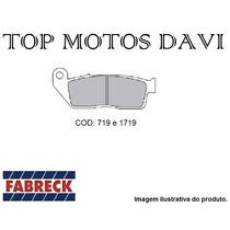 Pastilha Freio Fabreck Dianteira Hornet 05/08 S/ Abs - 2846