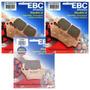 Kit Pastilhas Freio Ebc Fa209/2hh + Fa213hh Bmw F800gs 800gs