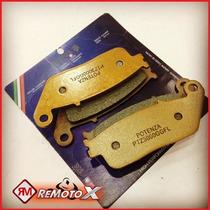Jogo De Pastilha Dianteira Potenza Honda Hornet Ano 2012