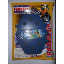 Pastilha De Freio Harley Davidson Fxst Traseira Fabreck