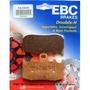 02 Pastilhas De Freio Dianteiro Ebc Fa335hh Bmw R 1200 Gs