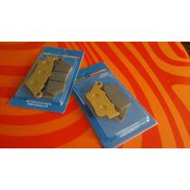 Pastilhas Xt660r,cb500 Kit Dianteira E Traseira
