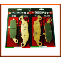 Jogo Pastilha Versys 650 Ano 2011 Dianteira Potenza 229 231