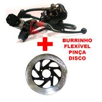 Sistema Freio Yes125 Pinça, Burrinho, Flexível, Disco Freio