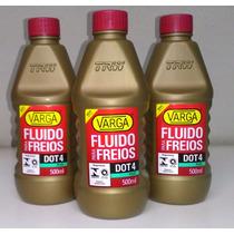 Óleo Freio/embreagem Hidráulica Dot4 500ml Varga 3 Unidades