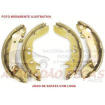 Jg Sapata Patim Lona Freio Mao Fiat Ducato 2.3 16v Multijet