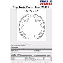 Sapata De Freio Traseira (lona) Hilux 2005> Fras-le