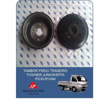 Tambor Freio Traseiro Towner Junior/effa Pickup/van