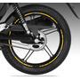 Kit De Frisos Refletivos Para Roda De Moto Cg 150.