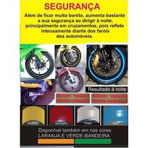 Friso Adesivo Refletivo Curvo Moto Ou Carro + Frete Grátis