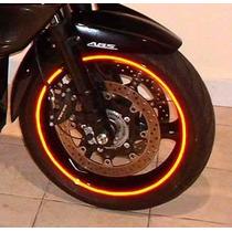 Friso Adesivo Refletivo Curvo Moto Ou Carro Frete Grátis