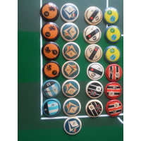 Botões Brianezi, Lote 25 Unidades